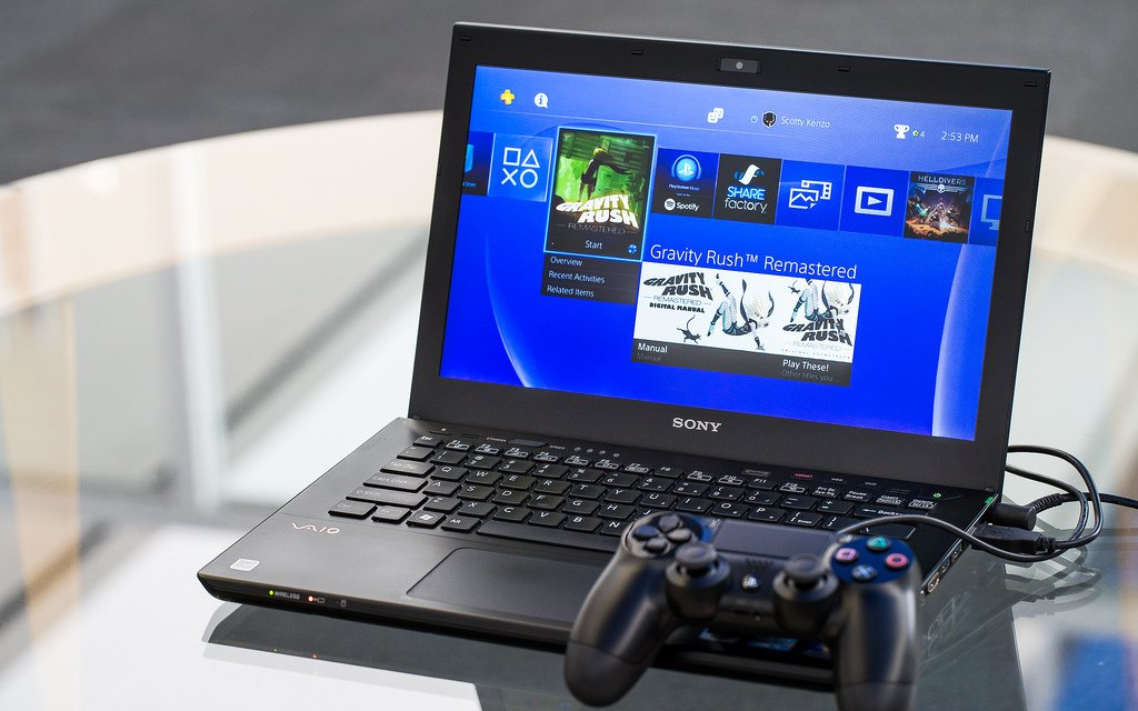 How to use ps4 remote play on your pc mac guide push for Housse manette ps4