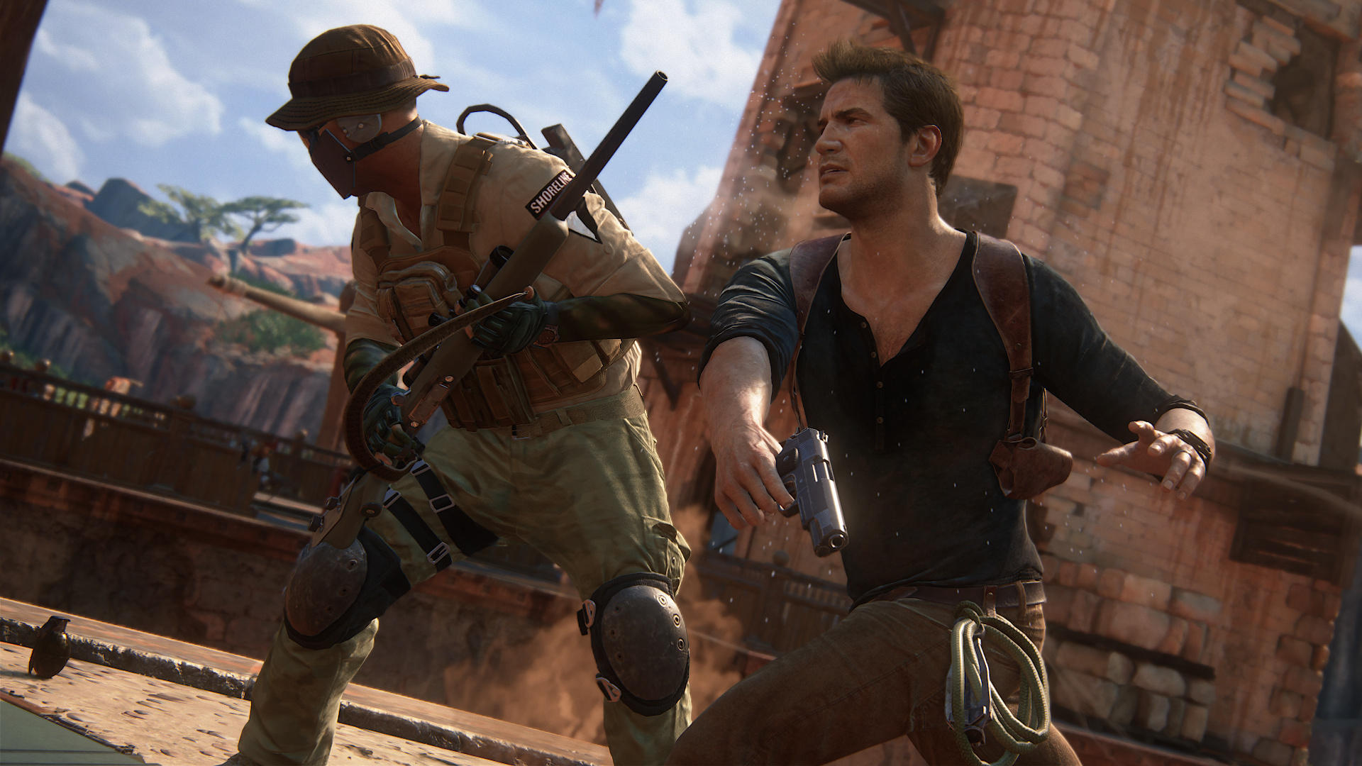 hands on uncharted 4 is bigger and better than ever. Black Bedroom Furniture Sets. Home Design Ideas