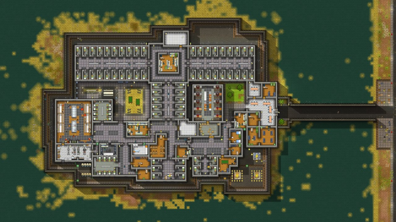 Prison Architect Breaks Free from 28th June on PS4 - Push