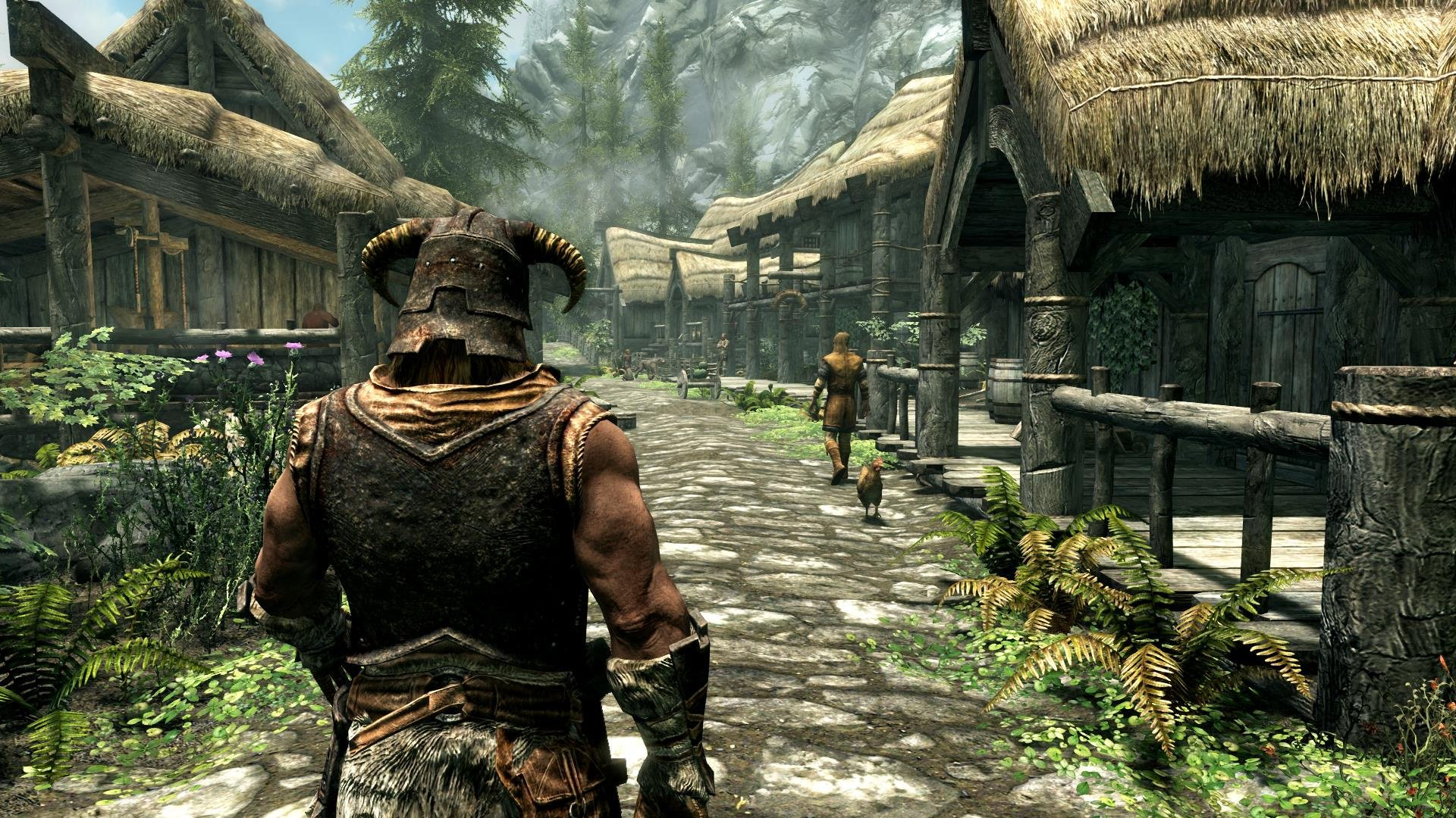 e3 2016 this is how the elder scrolls v skyrim looks on ps4 push square. Black Bedroom Furniture Sets. Home Design Ideas