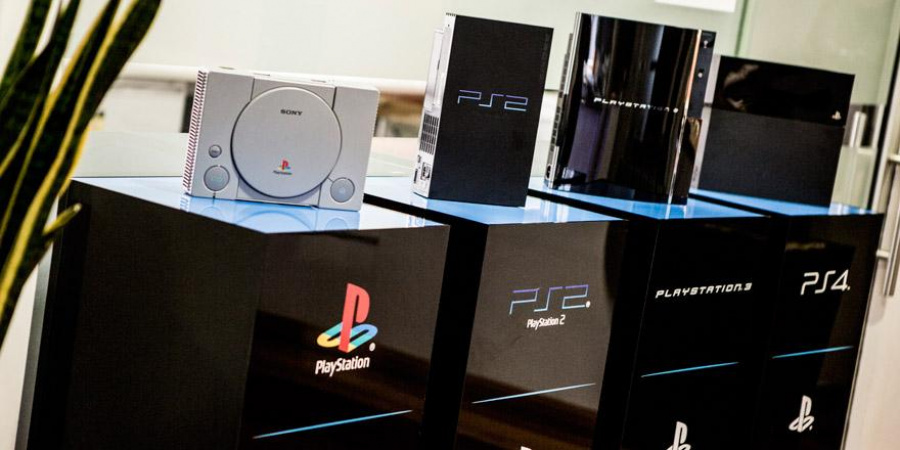 PlayStation 4 PS3 PS2 PSone PlayStation Sony 1