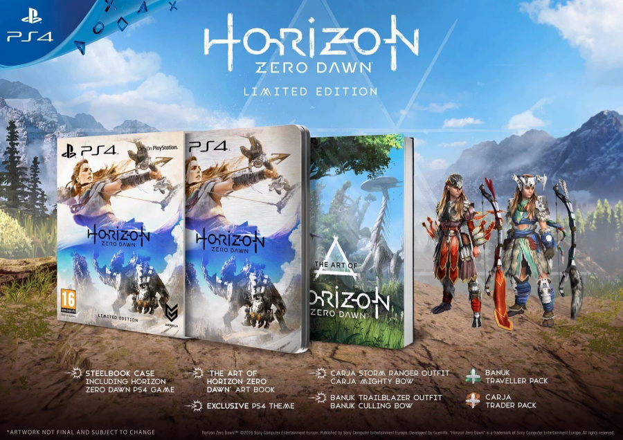 Horizon Zero Dawn PS4 PlayStation 4 Limited Edition
