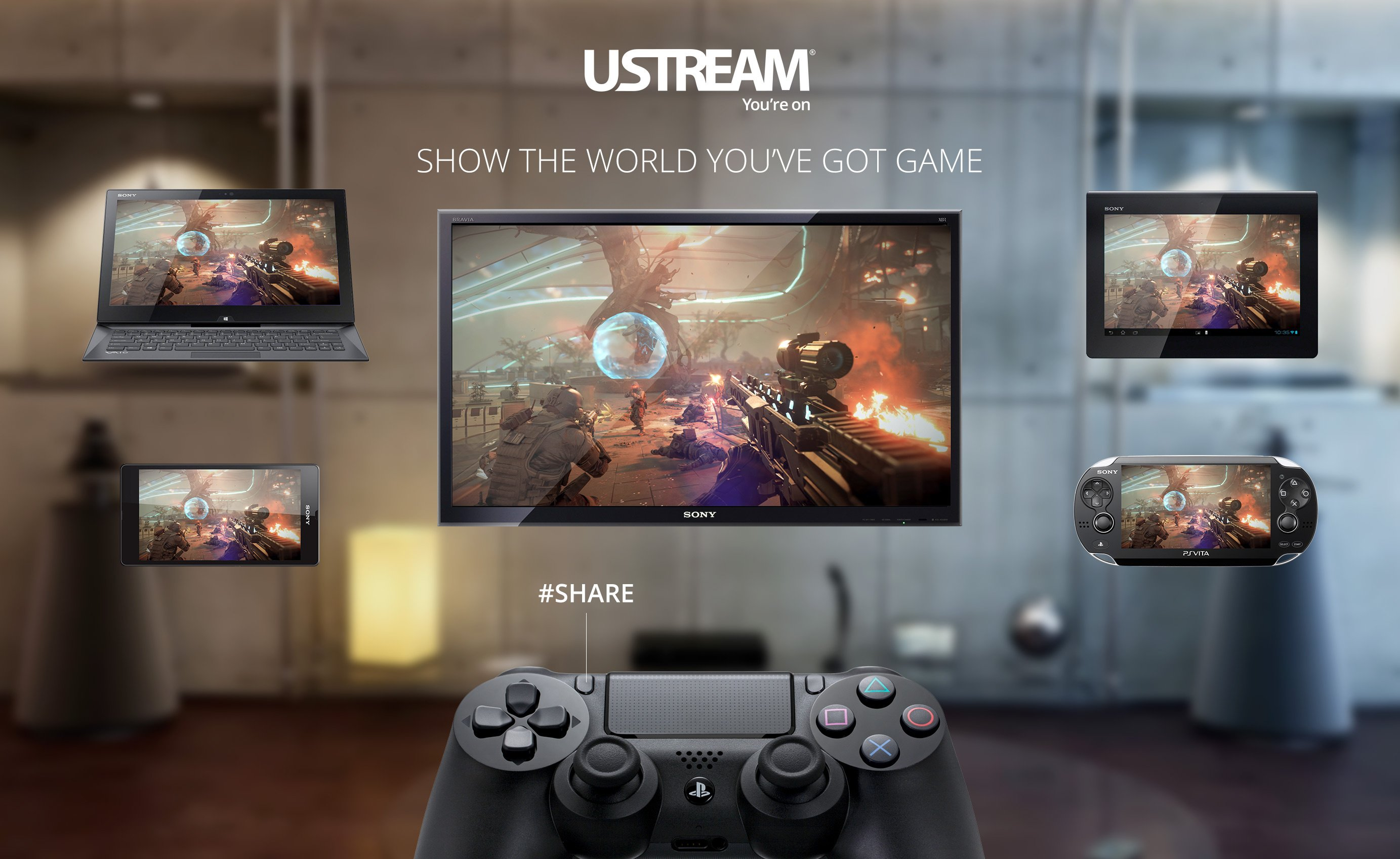 say goodbye to ustream support on ps4 this august