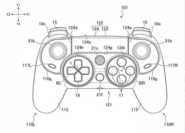 Sony Patents Elite Ps4 Controller With Paddles And