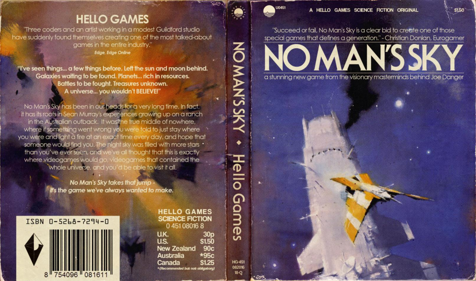 Sci Fi Book Cover Art ~ These alternate no man s sky ps covers look just like