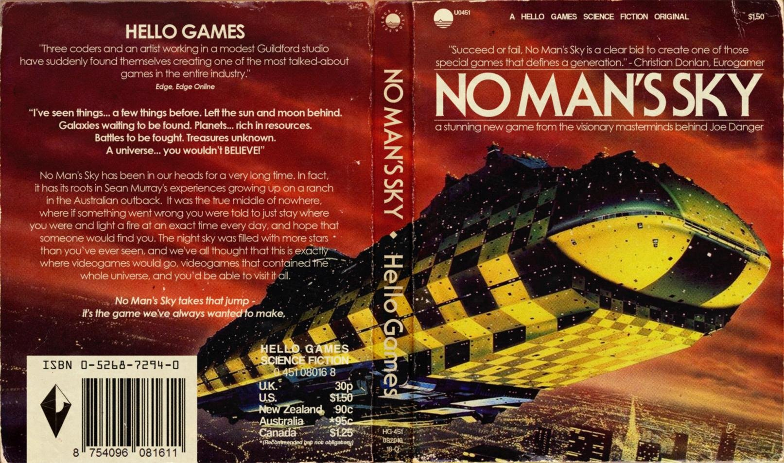 Sci Fi Book Cover Art : These alternate no man s sky ps covers look just like