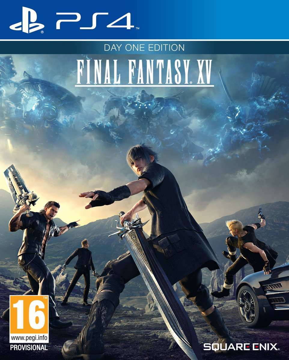 Final Fantasy XV Reversible Box Art Revealed