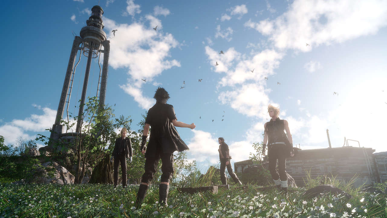Final Fantasy XV is 40 hours long, first half is an open
