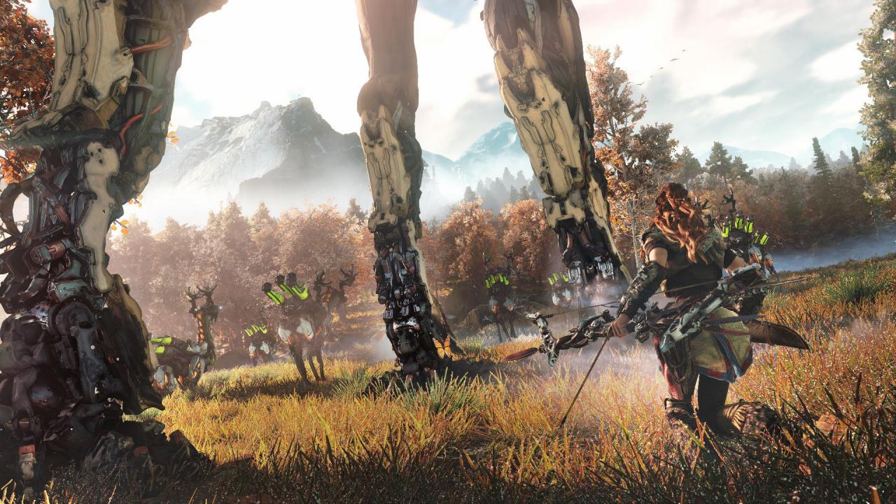 Horizon: Zero Dawn Looks Drop Dead Gorgeous in New PS4 Pro ...