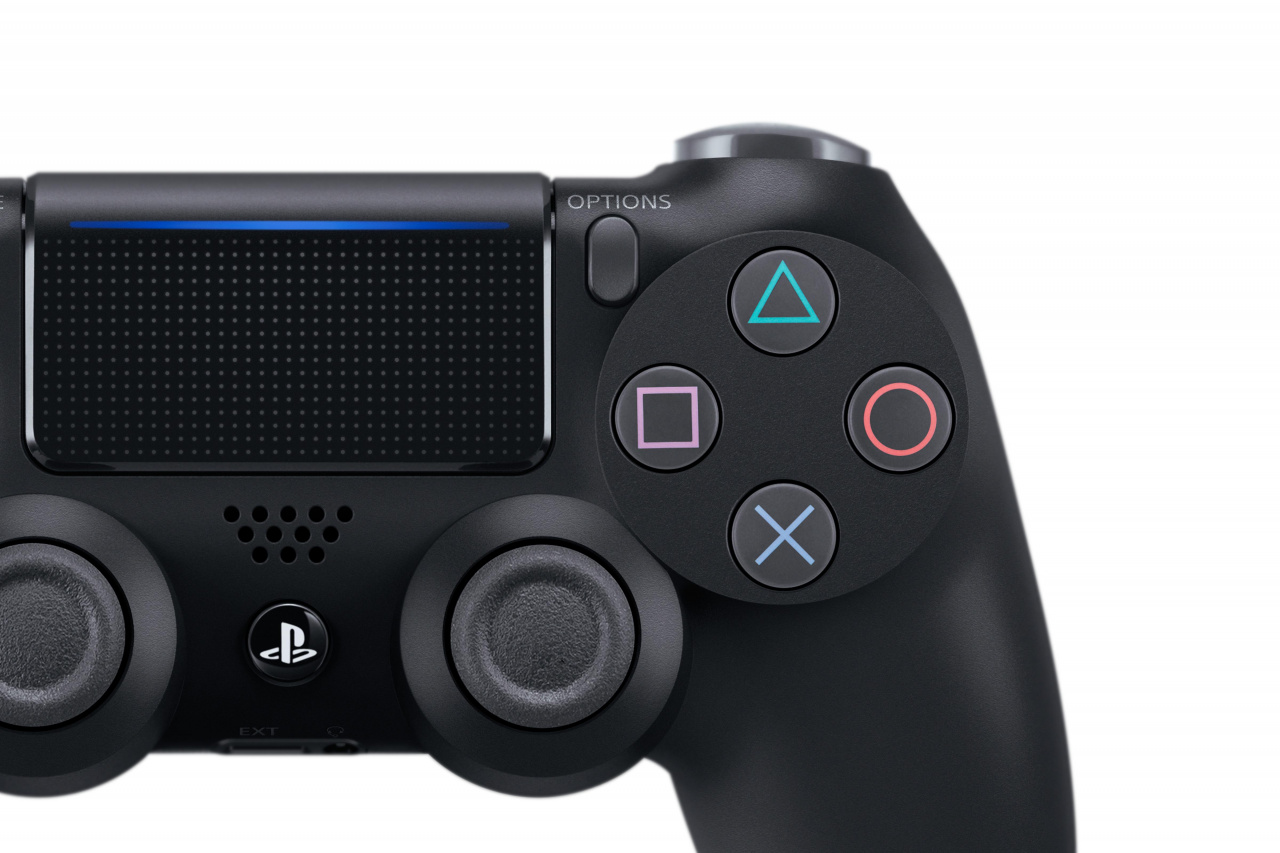 the new ps4 controller offers more than just another lightbar push square. Black Bedroom Furniture Sets. Home Design Ideas