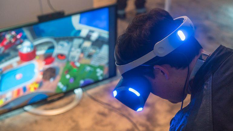 playstation vr can be used with wii u xbox one pc push square. Black Bedroom Furniture Sets. Home Design Ideas