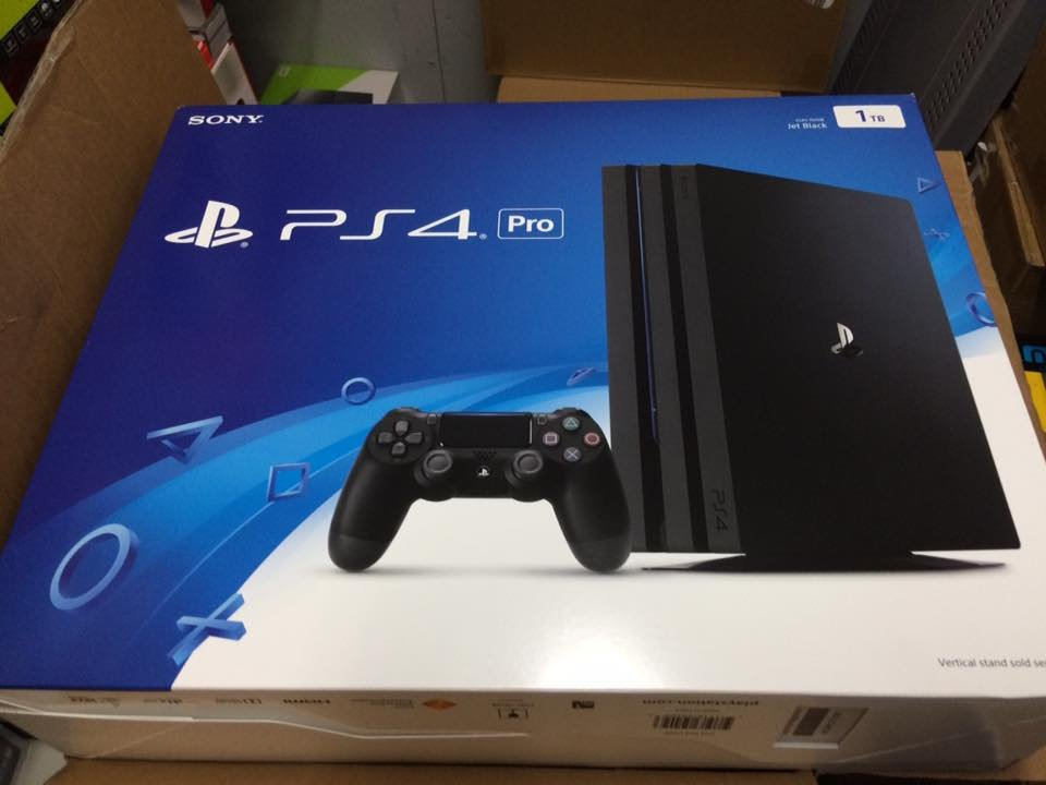 ps4 pro consoles are starting to be shipped to stores. Black Bedroom Furniture Sets. Home Design Ideas