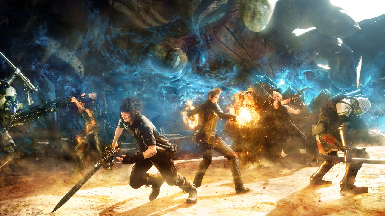 Final Fantasy XV launch day patch details