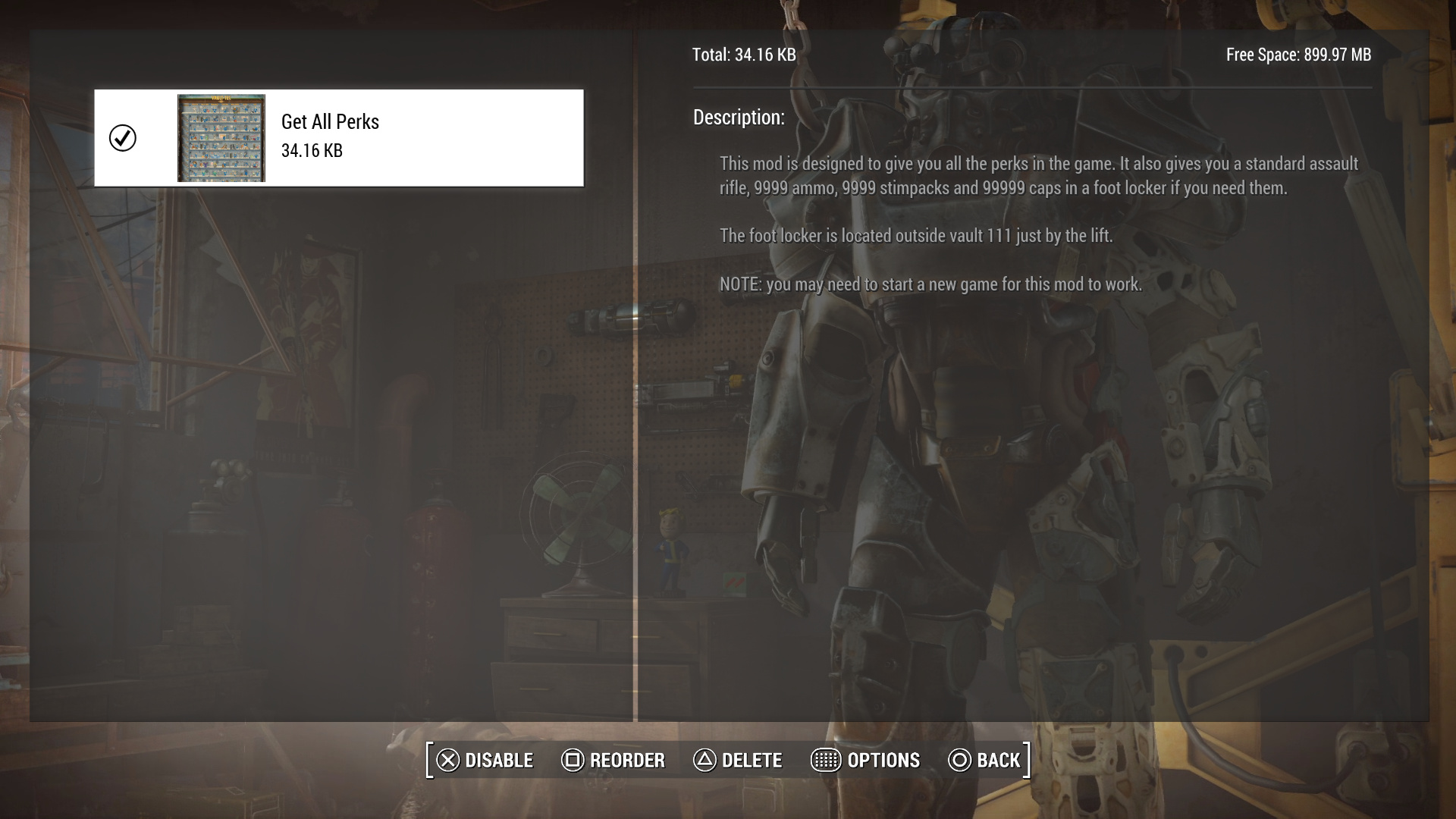 How to Download and Install Fallout 4 Mods on PS4 - Guide