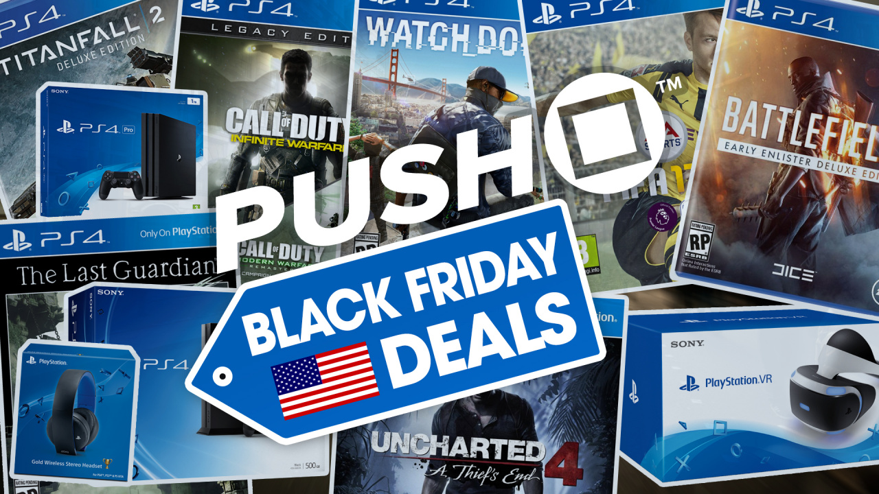the best ps4 black friday deals 2016 in the us ps4 pro ps4 slim playstation vr offers. Black Bedroom Furniture Sets. Home Design Ideas