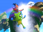 Running the Collectathon in Yooka-Laylee on PS4