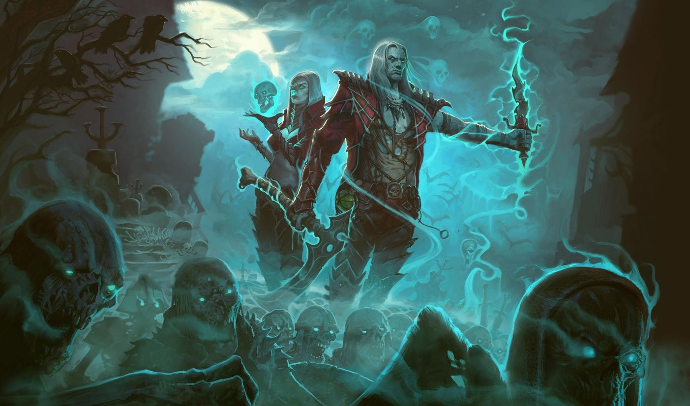 Diablo III Necromancer Details Rise From the Grave Next Week