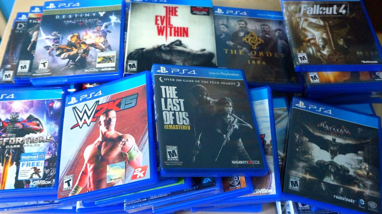What Are The Ps4 Games : Ps shifted over million games globally the