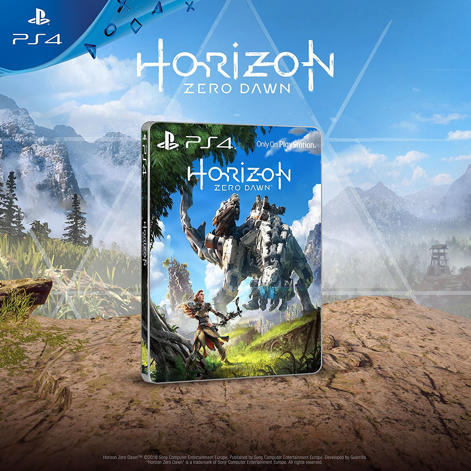 Amazon Uks Selling A Horizon Zero Dawn Steelbook Without The Game Sony Playstation 4 Collector Edition Ps4 1 Collectors Editions