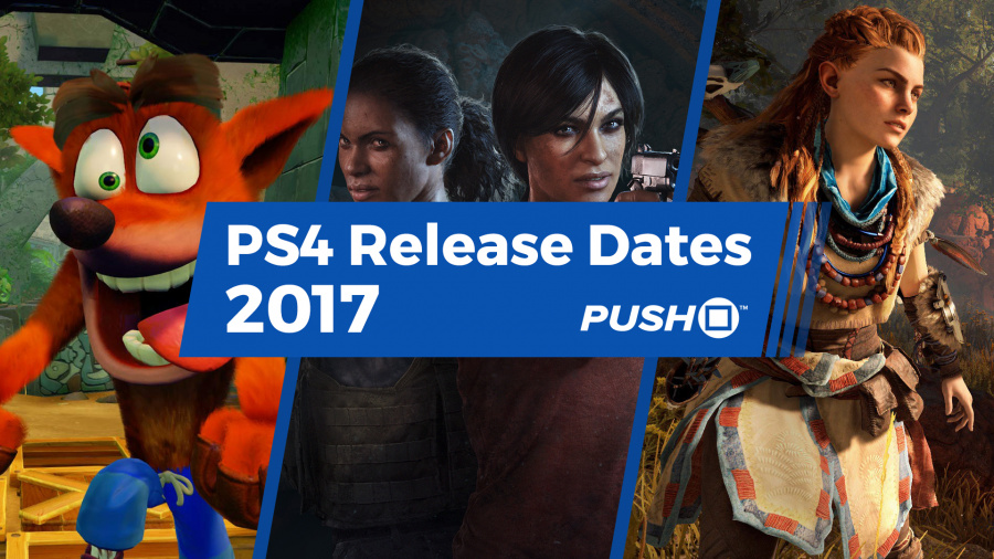 PS4 Games Release Dates 2017 PlayStation 4