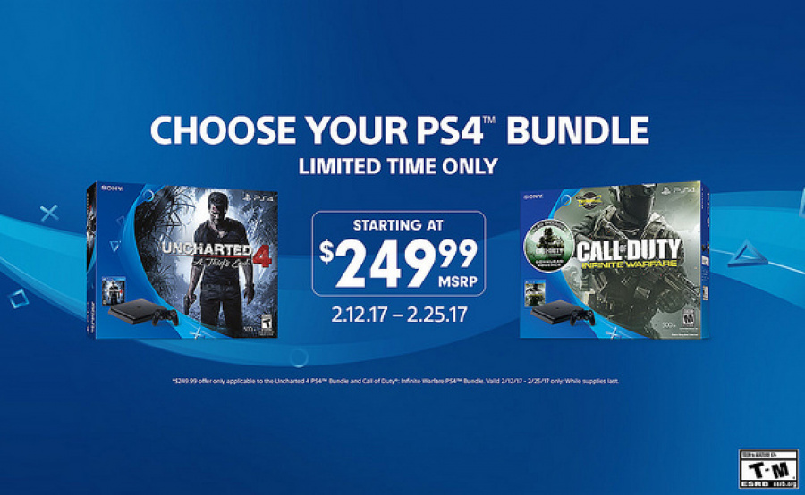 Uncharted 4 Call of Duty PS4 PlayStation 4 Bundle