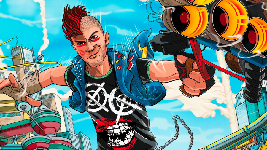 Sunset Overdrive PS4 PlayStation 4 1