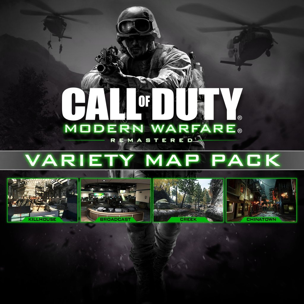 Call Of Duty Modern Warfare Remastered Variety Map Pack