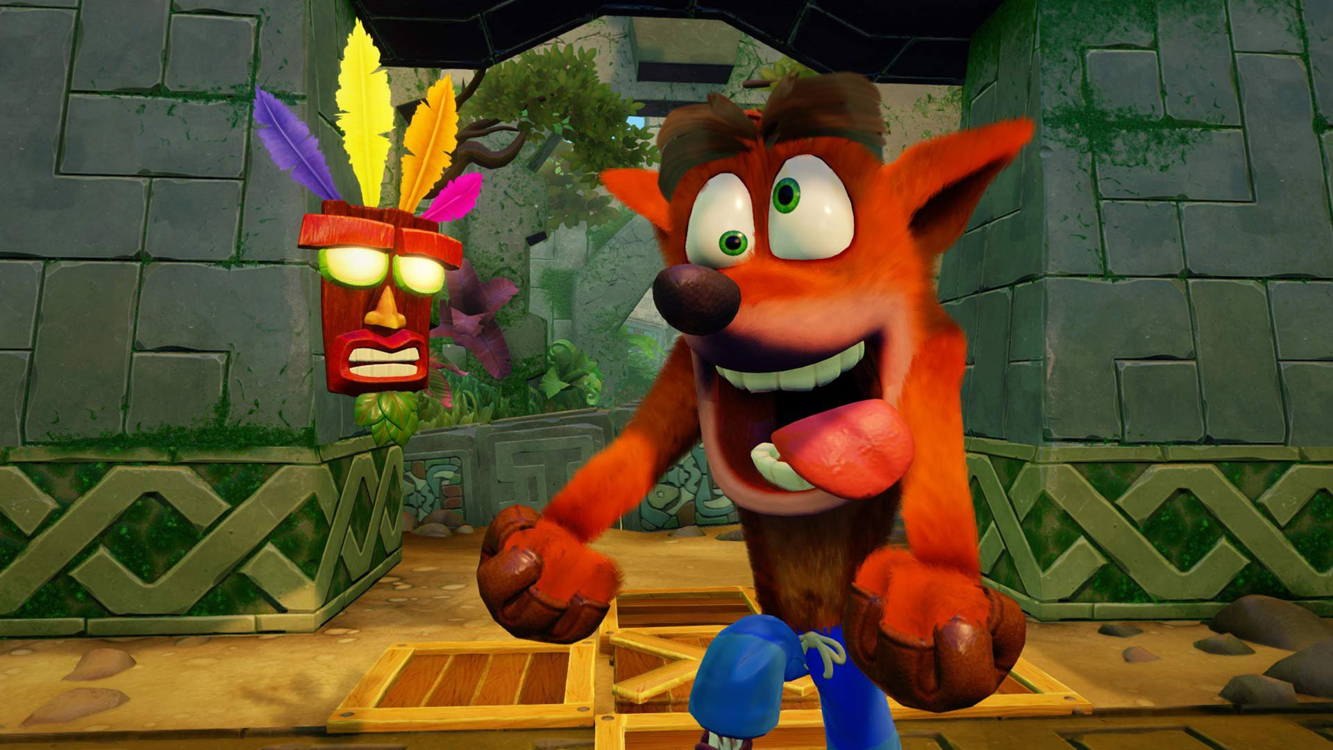 Crash Bandicoot 2's Hang Eight Stage Is Looking Ace on PS4 - Push Square
