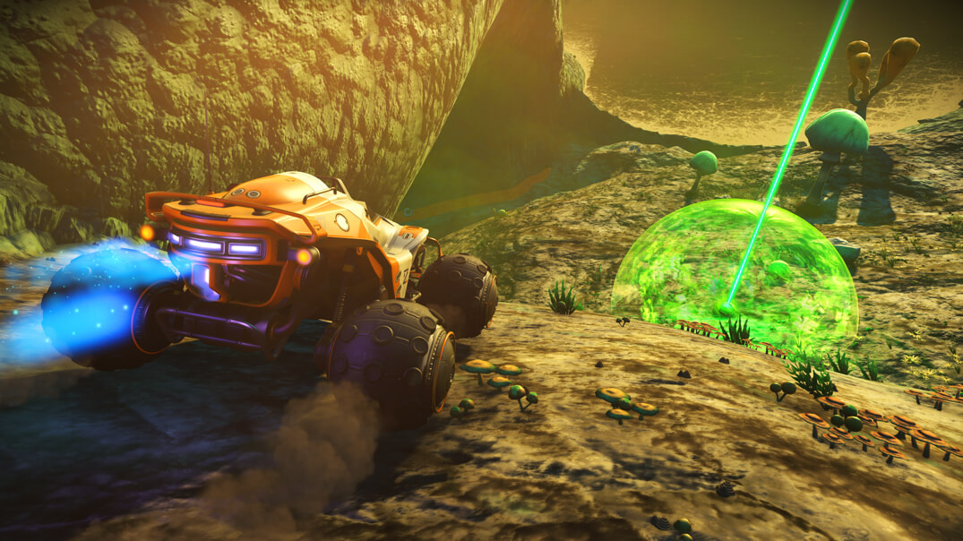 No Man's Sky's New PS4 Update Will Let You Build Race ...
