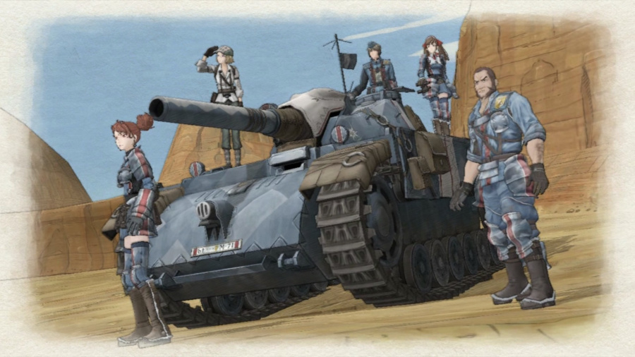 Best PS4 RPGs Role Playing Games Valkyria Chronicles Remastered