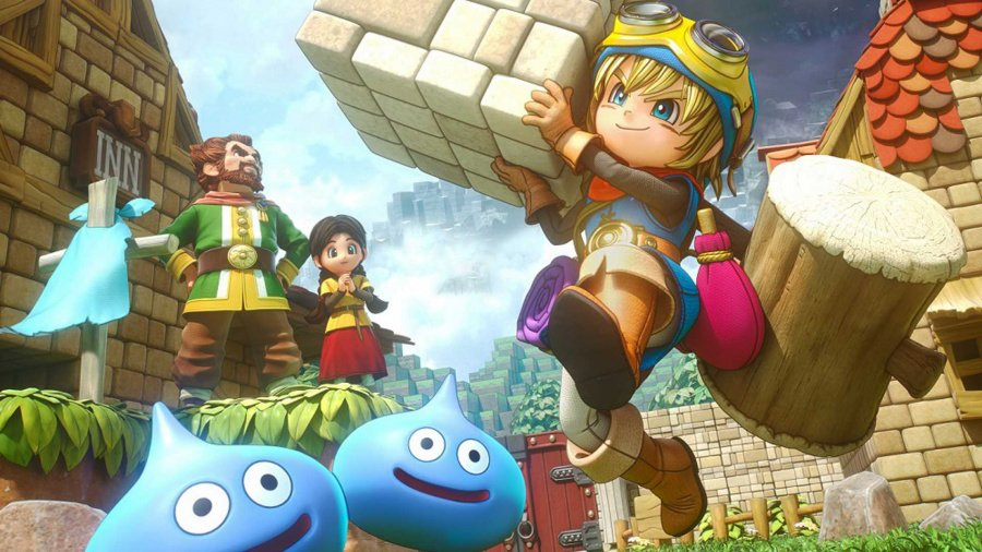 Best PS4 RPGs Role Playing Games Dragon Quest Builders
