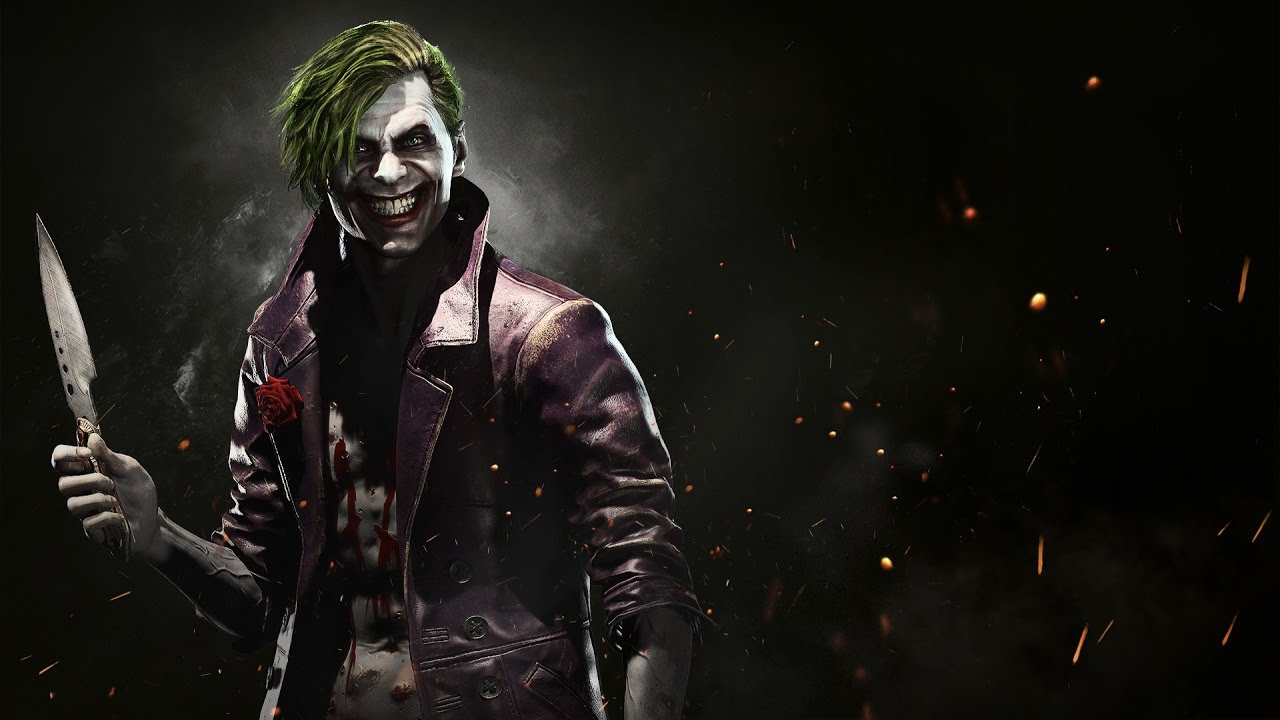 Pubg Trenchcoat Girl 4k Hd Games 4k Wallpapers Images: Injustice 2's Joker Is A Hobo With A Happy Face