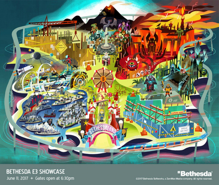 Bethesdaland E3 2017 PS4 PlayStation 4 1