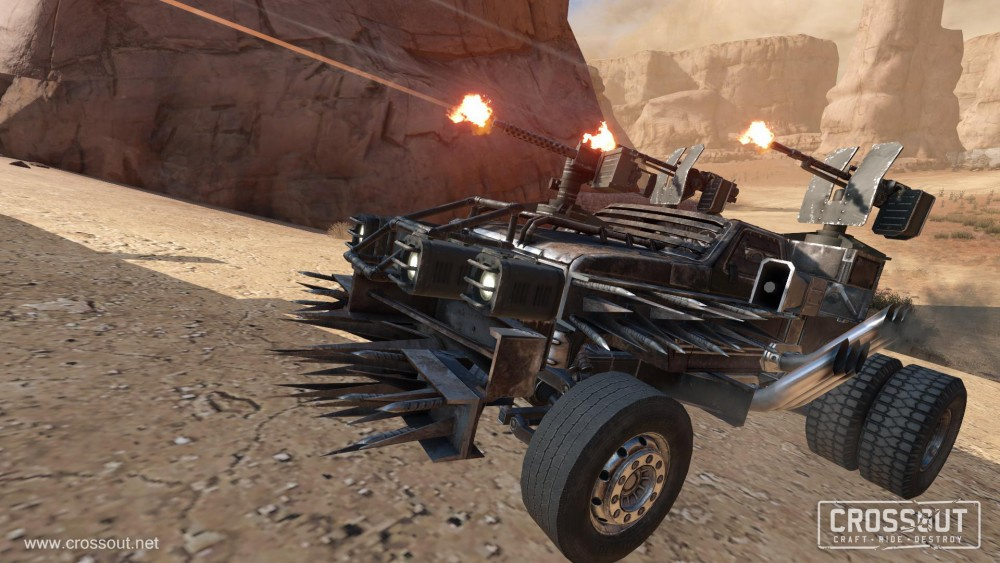 Hands On: Twisting Metal with Crossout on PS4 - Push Square