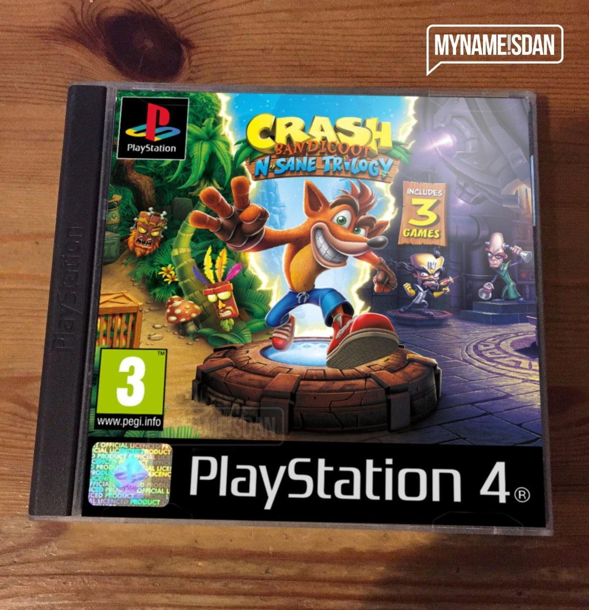 Playstation 1 Games On Ps4 : This is what crash bandicoot ps s case should look like