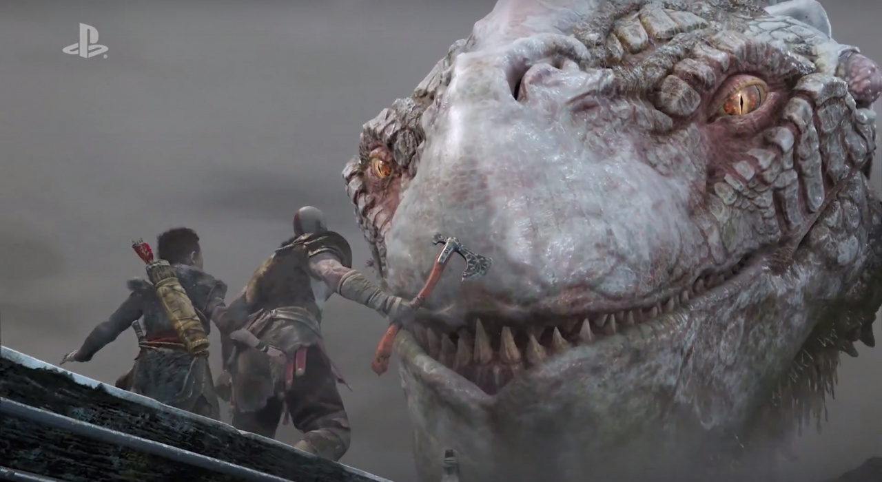 How Ps4 Games Look : God of war ps still looks drop dead gorgeous in new