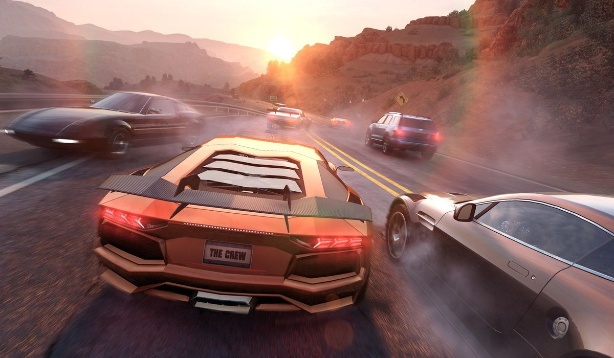 the crew 2 looks like an automotive playground on ps4 e3. Black Bedroom Furniture Sets. Home Design Ideas