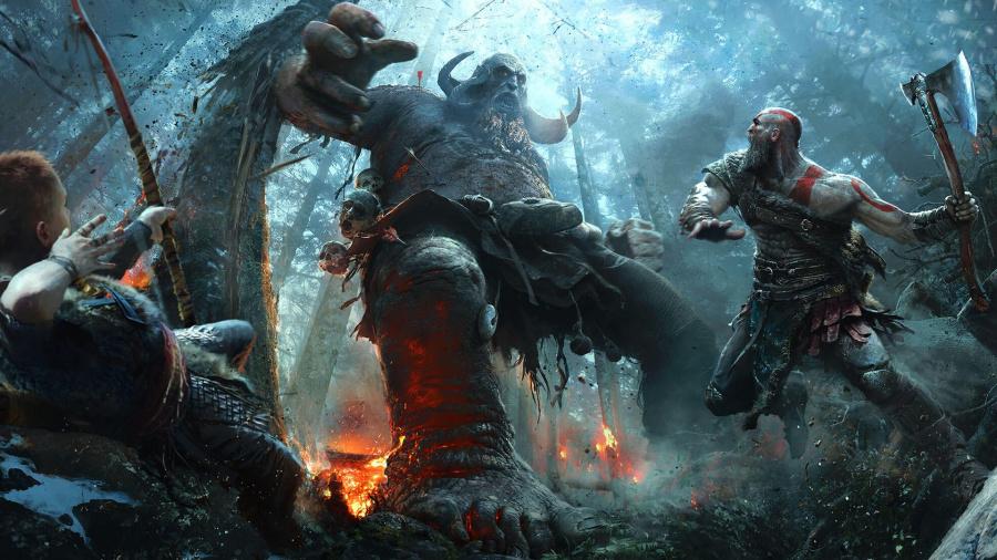 God of War PS4 E3 2017 PlayStation 4 1