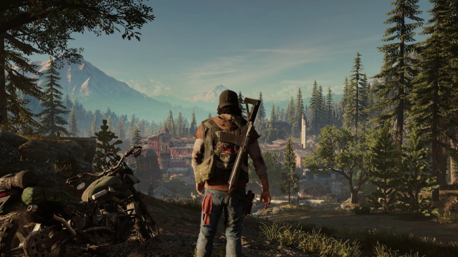 Days Gone PS4 E3 2017 PlayStation 4 1
