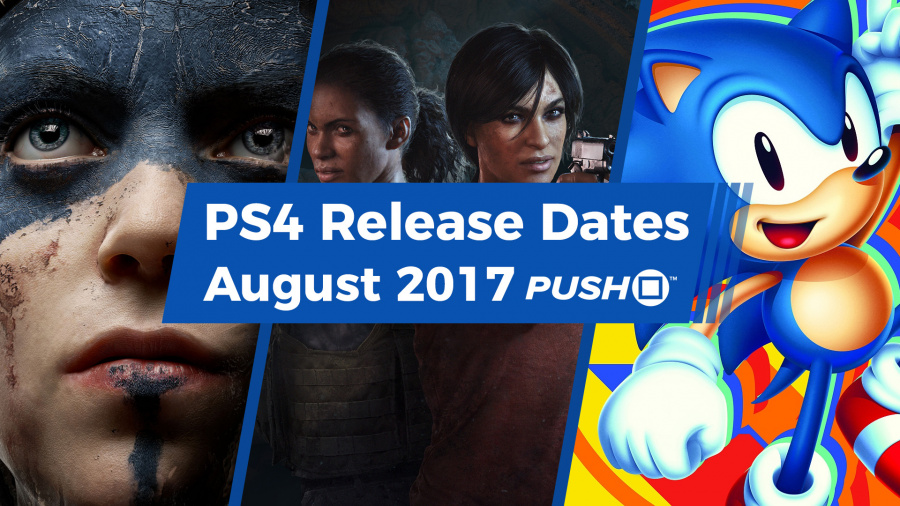 August 2017 PS4 PlayStation 4 Release Dates Guide