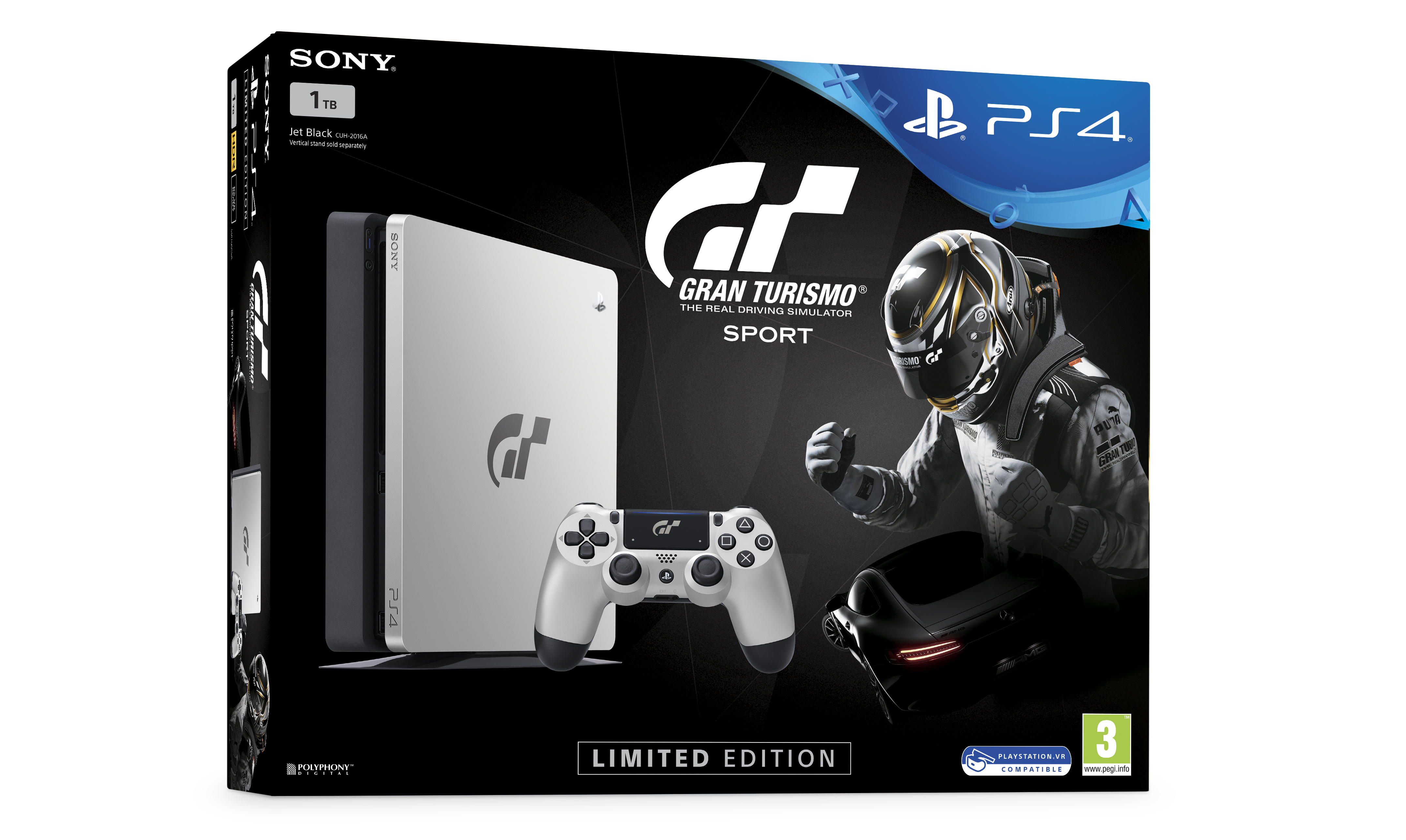 gamescom 2017 gran turismo sport sharpens up with limited edition ps4 push square. Black Bedroom Furniture Sets. Home Design Ideas