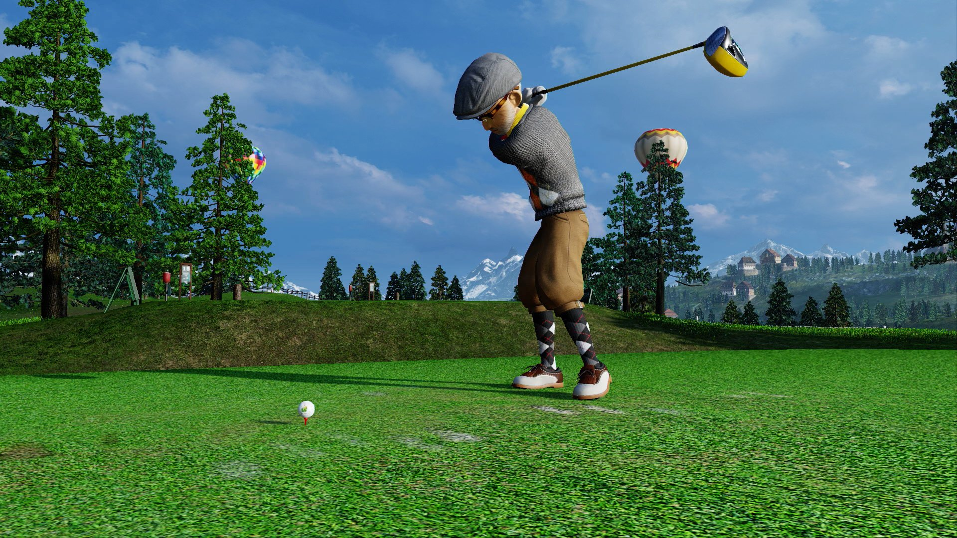 Everybody's Golf How to Add Spin Super Topspin Backspin Guides