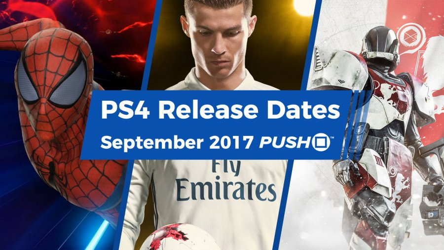 PS4 PlayStation 4 September 2017 Release Dates Guides