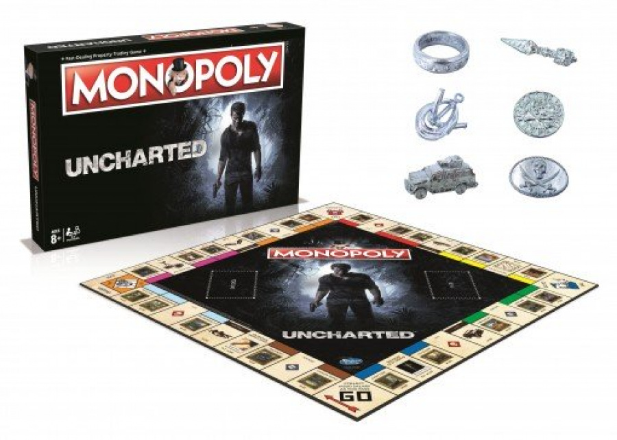 Uncharted Monopoly PS4 PlayStation 4 1