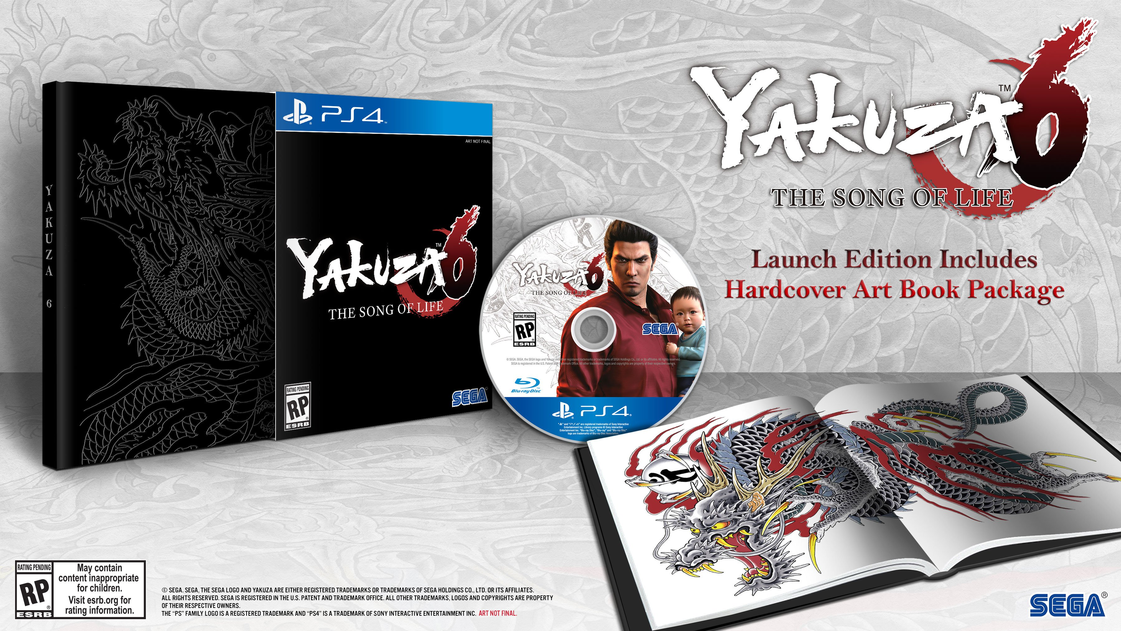 Yakuza 6 Heading West on 20th March With a Premium Edition