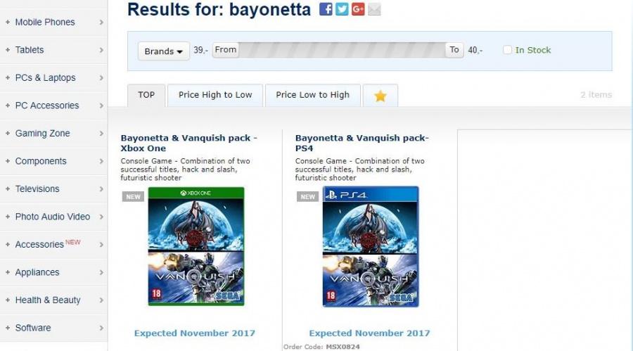 Bayonetta PS4 PlayStation 4 2