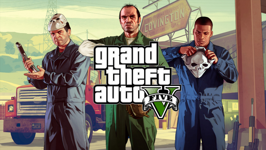 Grand Theft Auto V PS4 PlayStation 4 1