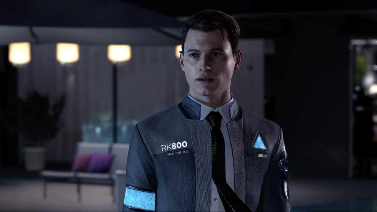 Detroit Become Human Connor Wallpaper: Hands On: Detroit: Become Human Hints At Huge Potential