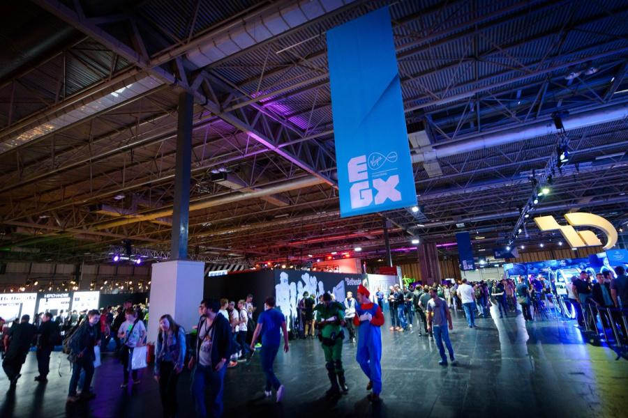EGX PlayStation 4 PS4 1