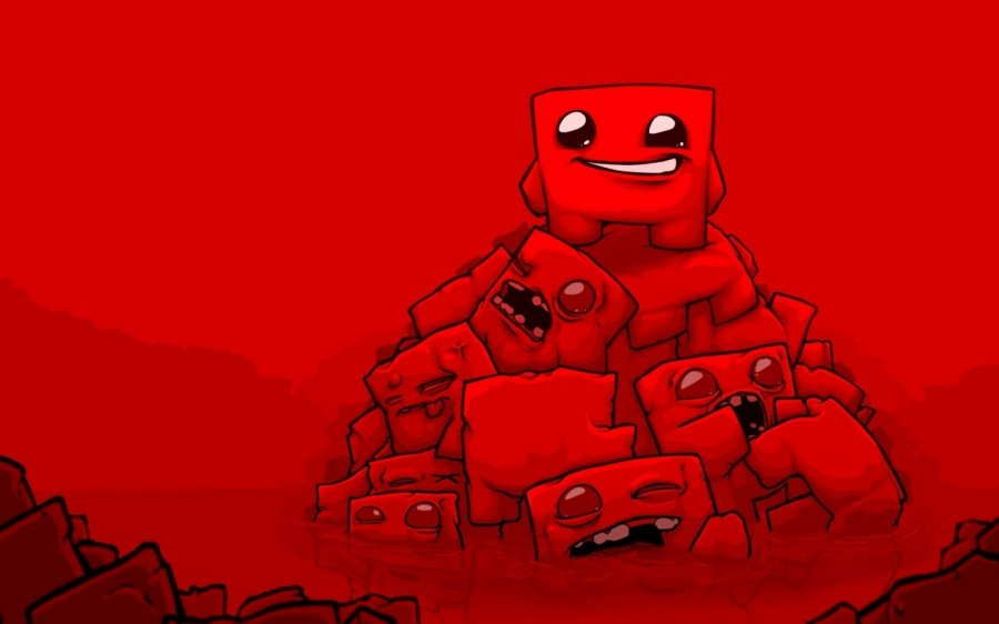 Super Meat Boy Forever PS4 PlayStation 4 1